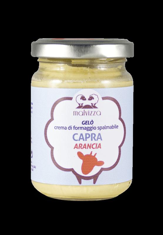 Creme Spalmabili Gelò - Capra Arancia
